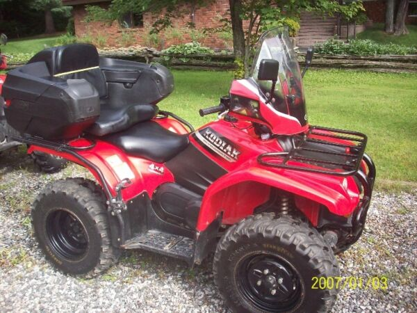 Used 2000 Yamaha kodiak 400 ultramatic liquide