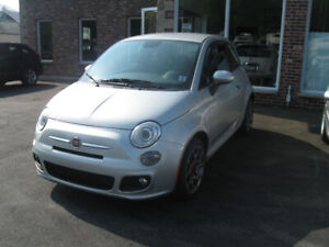 2014 Fiat 500 Sport. Great Little Car! Low KMs.