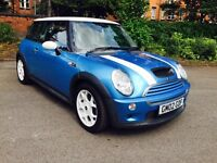MINI COOPER S 1.6, 12 MONTHS MOT, 69K MILEAGE ONLY, FULL LEATHER SEATS