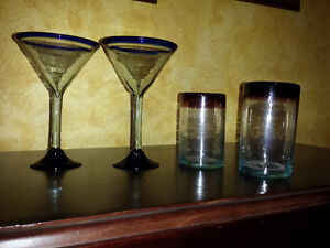 Handblown Mexican Glassware