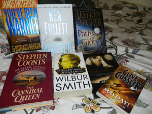 (7) male bestselling authors