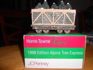 1998 HOMETOWNE EXPRESS by JC PENNEY -ALPINE TREE EXPRESS BOXED