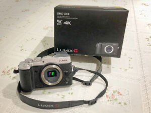 Panasonic Lumix GX8 Mirrorless Micro Four Thirds Camera