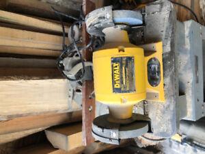DeWalt bench grinder