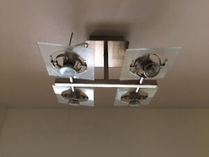 TWO ceiling light sets