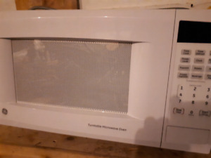 GE microwave. Barely used.
