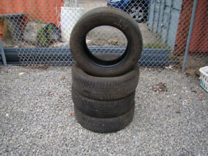 P215/60R16 Michelin X-Ice 4 Used Snow Tires
