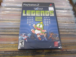 TAITO Legend 2 For Playstation 2 SEALED!!