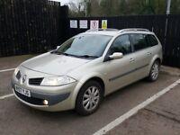 2007 Renault Megane Dynamique Vvt, 1.6 Petrol, Automatic
