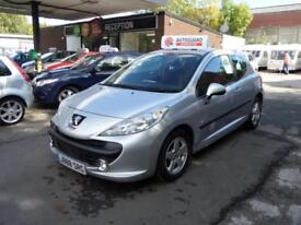 Peugeot 207 Verve 2009 3dr Petrol Manual Metallic Silver Economical Superb Motor