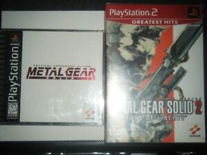 CLASSIC METAL GEAR SOLID GAMES