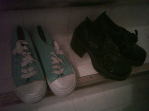 Assorted women's shoes size 5-6