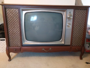 Vintage 50's - 60's Television
