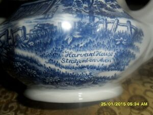 Dishes/Royal Essex/Shakespear Country Blue London Ontario image 3