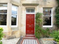 Unfurnished 2/3 bed main door traditional property in Marchmont