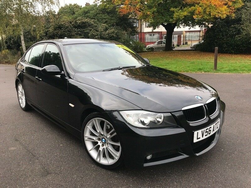 bmw 318 i sport 318i m sport black 2006 in redbridge london gumtree. Black Bedroom Furniture Sets. Home Design Ideas