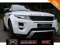 2012 12 LAND ROVER RANGE ROVER EVOQUE 2.2 SD4 DYNAMIC LUX 5D AUTO 190 BHP DIESEL