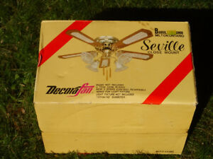 - Brand New Ceiling Fan - Still in Box -