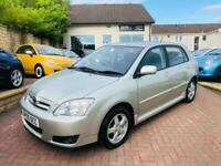 2005 Toyota Corolla 1.6 VVT-i Colour Collection 5dr Hatchback Petrol Automatic