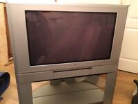 Free TV, freeview box and stand