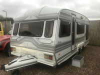 1992 Romahome special caravan 18ft twin axle cold stove end bedroom top class px