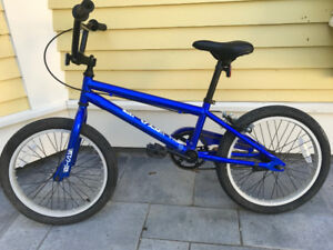 """BMX kids 16"""" wheel, barely used, mint condition"""