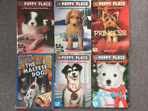 The Puppy Place paperbacks plus The Maltese Dog