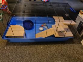 Barney Hamster cage bundle