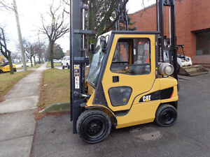 2011 Caterpillar forklift Out door &Indoor with Cab
