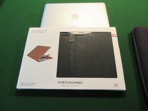 """MACBOOK DECODED LEATHER COVER 15"""""""