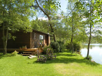 Approx 65 Acres Lake Front with Cabin