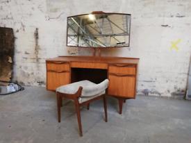 Mcintosh of Kirkcaldy teak dressing table