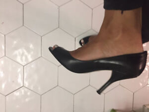 Nine West Open Toe Heels