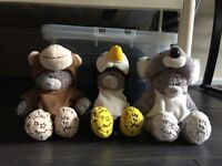 Limited edition tatty Teddys