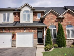 3 BR Townhouse for Lease, Stoney Creek Hamilton - Available Now