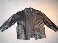 Kid's Leather Jacket from Gap, size M, motorcycle style
