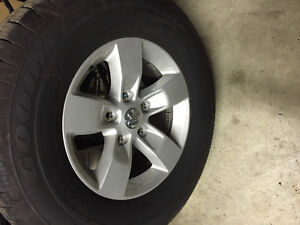 Brand new all season Dodge Ram tires with rims