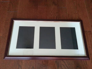 Triple Opening 5x7 Wall Frame