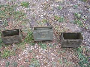 3 Small Ammo Boxes Moose Jaw Regina Area image 1