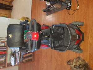 Mobility  scooter, 4 wheeler, used 6 Mts, owner passed on.