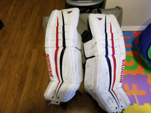 Used goalie gear
