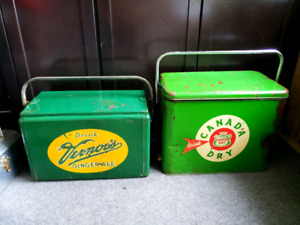 ORIGINAL 1960S CANADA DRY & VERNERS GINGERALE REDUCED
