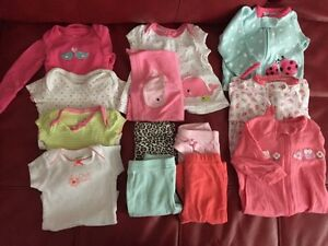 Newborn girls clothing perfect condition