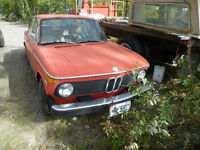 1970 BMW 2002 Coupe (2 door)