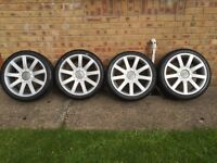 "Audi TT 18"" alloy wheels 5x100"
