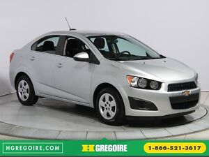 2015 Chevrolet Sonic LT AUTO A/C GR ELECT BLIETOOTH CAM.RECUL
