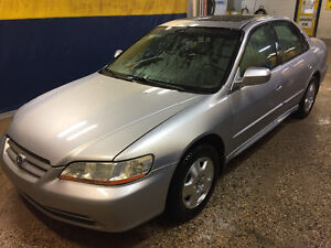 2002 Honda Accord EX Sedan, New Safety