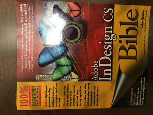 Adobe InDesign CS Bible.  938 pages.  $65 new.