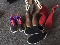 Infant size 8 trainers/boots (NEXT)