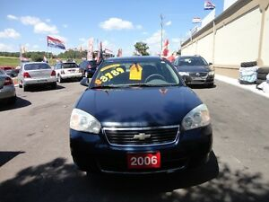 2006 Chevrolet Malibu LS Sedan E-TESTED & CERT Kitchener / Waterloo Kitchener Area image 1